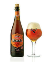 Bia Bỉ Bush Amber Triple chai 750ml