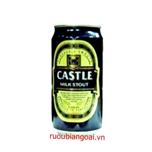 Bia Đen Castle lon 330ml