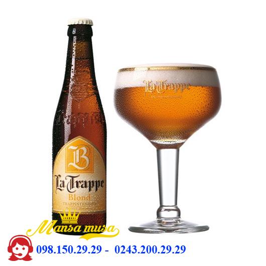 Bia Hà Lan La Trappe Blond 6.5% chai 330ml