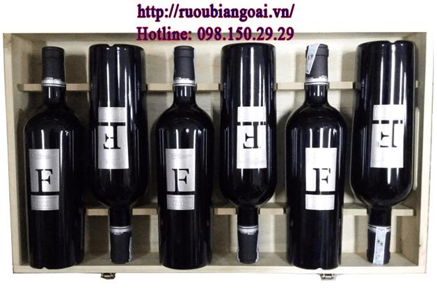 Rượu Vang ý F Negroamaro