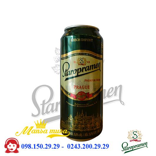 Bia Staropramen lon cao 500ml