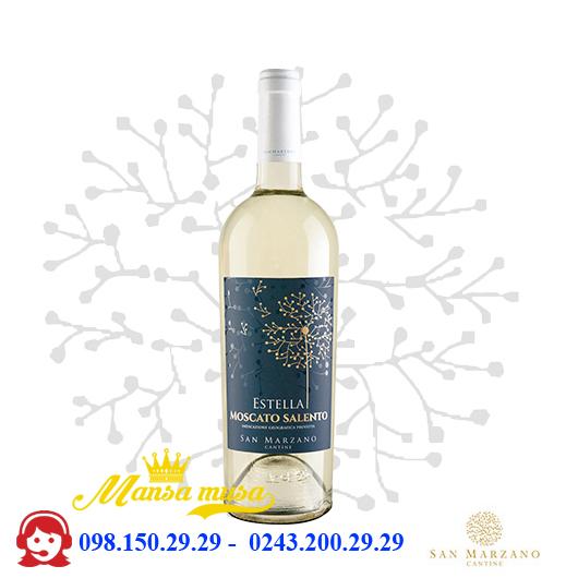 Vang trắng Estella Moscato 12,5%