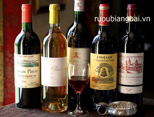 Cách phân biệt rượu vang Pháp thật nên biết