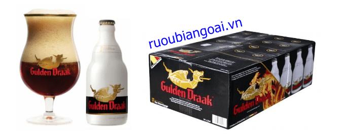 Bia Gulden Draak 10,5% (Bỉ) – 24 chai 330ml