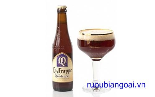 Bia Hà Lan La Trappe Quadrupel 10% chai 330 ml