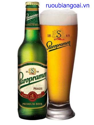 Bia Staropramen 5% - 330/500 ml
