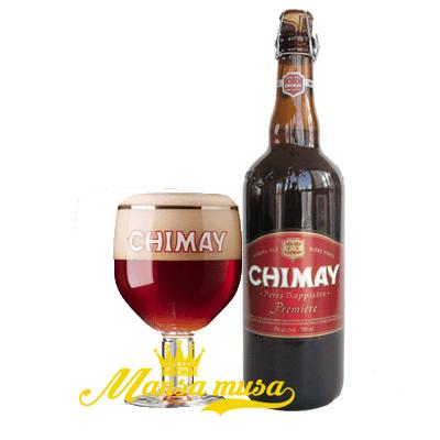 Bia Bỉ Chimay đỏ 7% vol (chai 750ml)