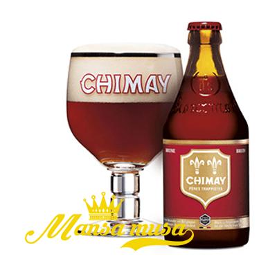 Bia Bỉ Chimay đỏ 7% (chai 330ml)