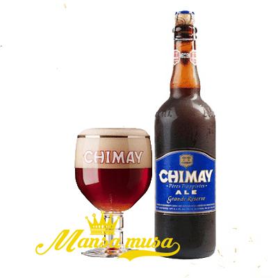 Bia Bỉ Chimay xanh 9% vol (chai 750ml)
