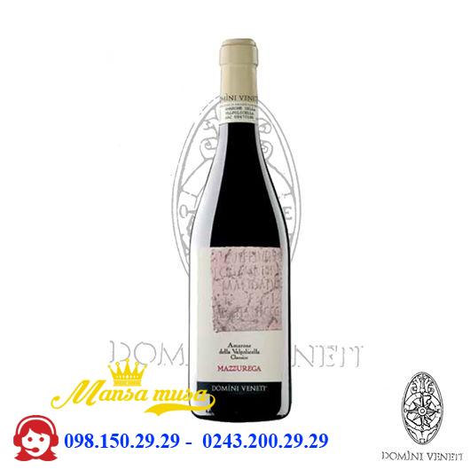 Vang đỏ Amarone Mazzurega 17%