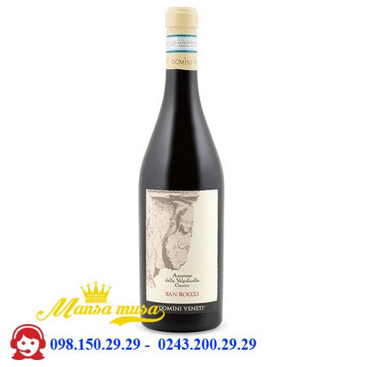 Vang đỏ Amarone San Rocco 17%