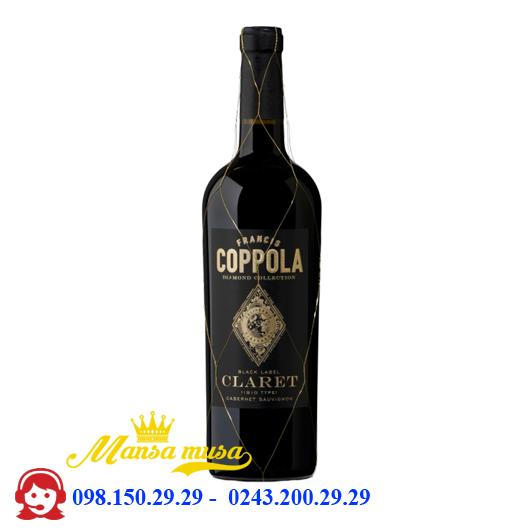 Rượu vang Mỹ Coppola Claret Cabernet Sauvignon