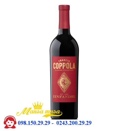 Vang Coppola Diamond Collection Zinfandel