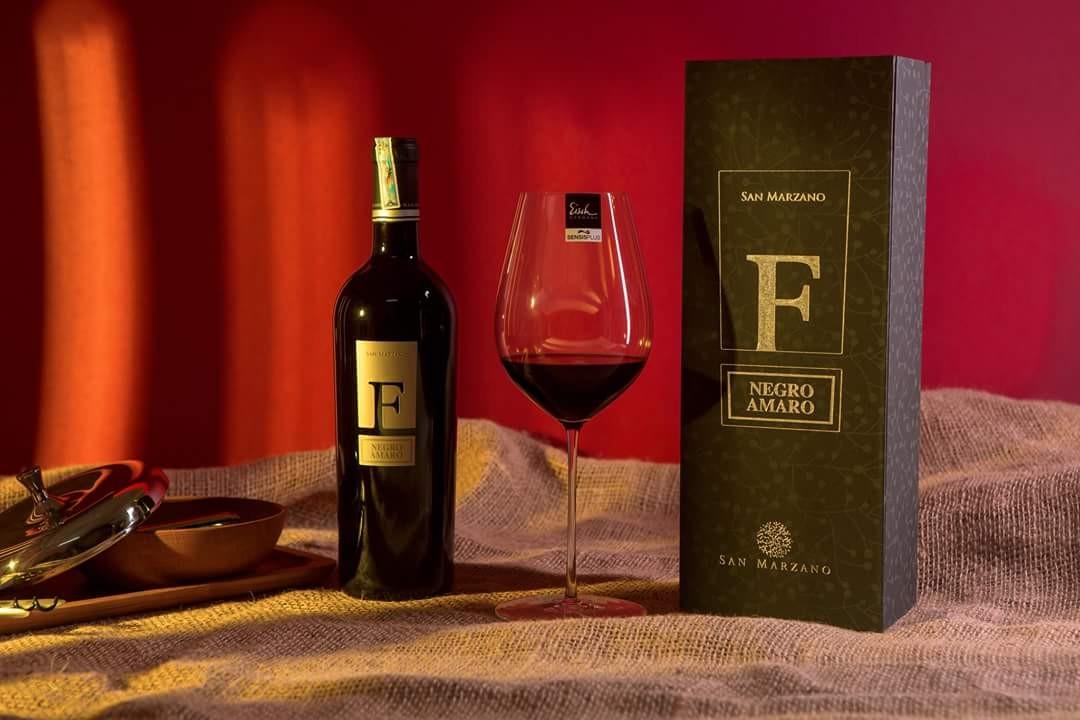 Rượu vang ý F negroamaro thùng gỗ 6 chai 750ml