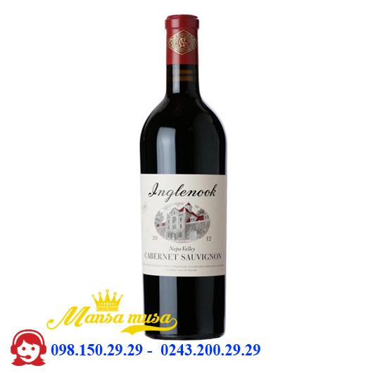 Vang Inglenook Cabernet Sauvignon- rượu vang Mỹ