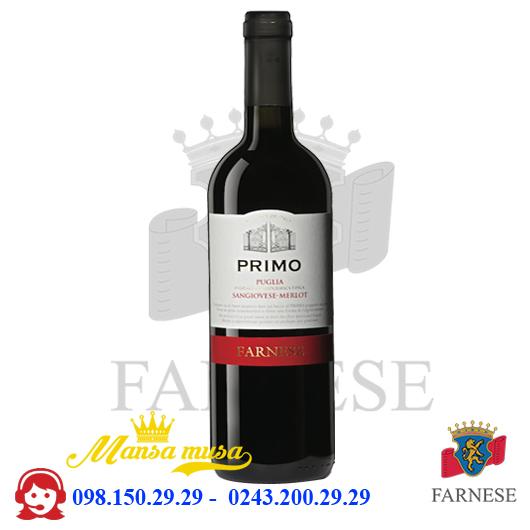 Vang đỏ Primo Sangiovese – Merlot 12% | Vang Italy