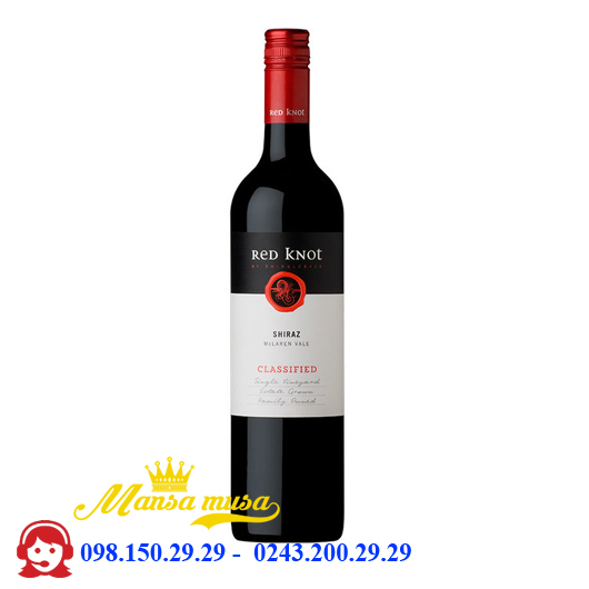 Vang Red Knot Shiraz