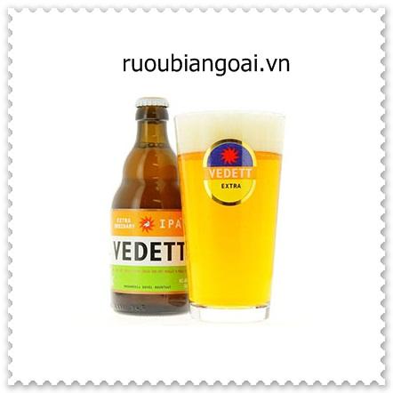 Bia Vedett IPA 5,5% bỉ chai 330 ml giá 85.000 đ/chai