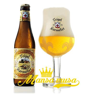Bia Bỉ Triple Karmeliet 8,4% (chai 330ml)