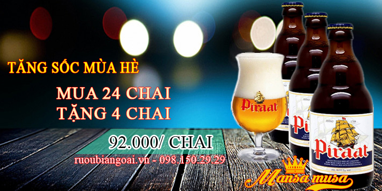 Bia Piraat bỉ 10,5% - 330ml