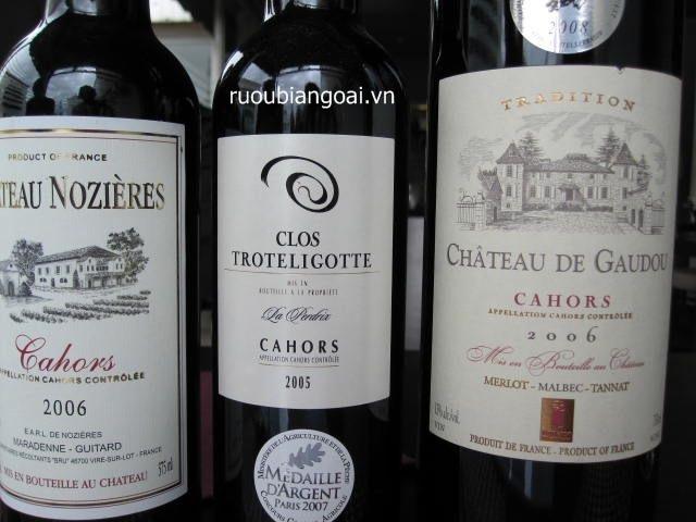 Các cấp độ của rượu vang Pháp - Cấp độ 3 AOC