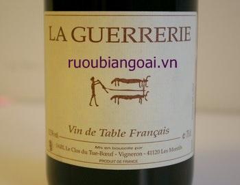 Các cấp độ của rượu vang Pháp - Vin De Table