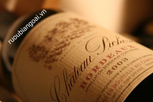 Các cấp độ của rượu vang Pháp