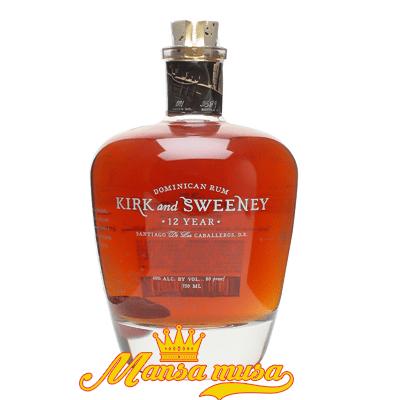 Rượu Dominican Rum Kirk & Sweeney 12 Year