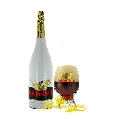 Bia Gulden Draak 10,5% (chai 1500ml)