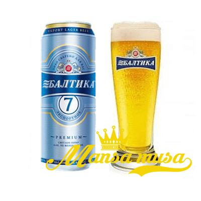 Bia Nga Baltika 7 (5% ) lon 500ml