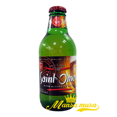 Bia Saint Omor 5% chai 250ml