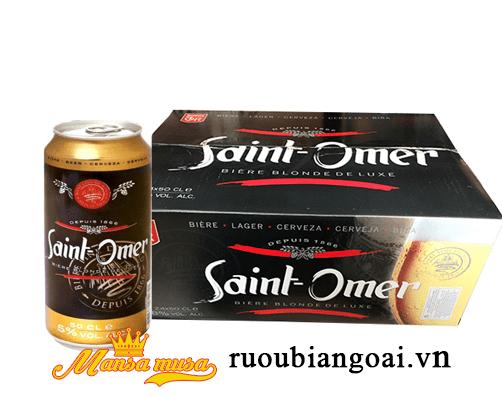 Bia Saint Omor 5% lon 500ml