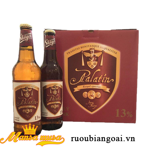 Bia Steiger Palatin 5,5% chai 500ml
