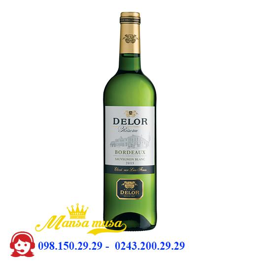 Vang Delor Reserve Bordeaux Sauvignon Blanc 2016