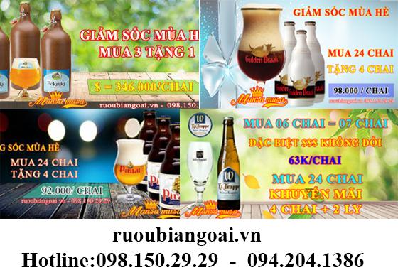 bia nhập khẩu giá re