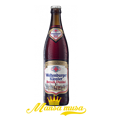Bia Weltenburger Kloster Barock Dunkel Đức 4,7% chai 330ml
