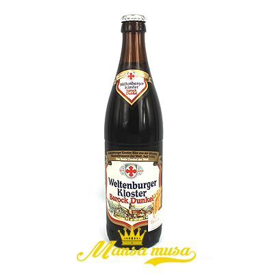 Bia Weltenburger Kloster Barock Dunkel Đức 4,7% chai 500ml