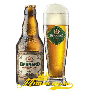 Bia Bernard Bohemian Lager Tiệp 4,9% chai 330ml