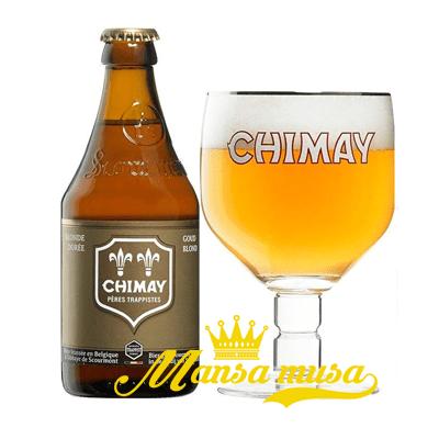 Bia Chimay trắng 8% chai 330ml