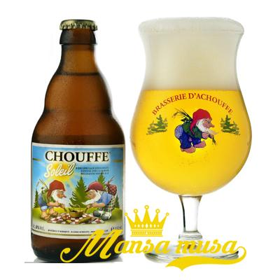 Bia Bỉ Chouffe Soleil 6% (chai 330ml)