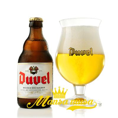 Bia Duvel Bỉ 8,5% chai 330ml