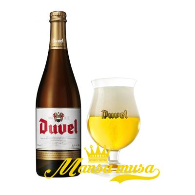Bia Duvel  Bỉ 8,5% chai 750ml