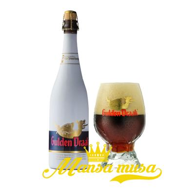 Bia Gulden Draak 10,5% (chai 750ml)