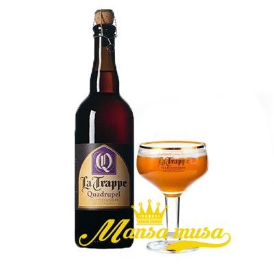Bia La Trappe Quadrupel 10% chai 750ml