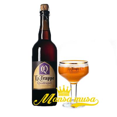 Bia Hà Lan La Trappe Quadrupel 10% (chai 750ml)