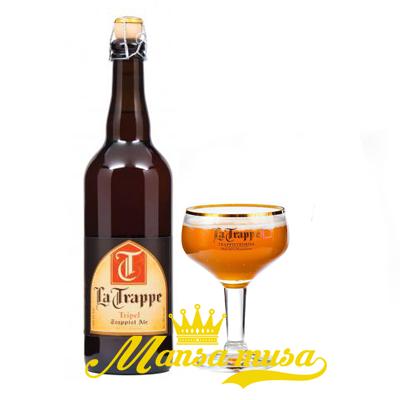 Bia La Trappel Tripel 8% chai 750ml