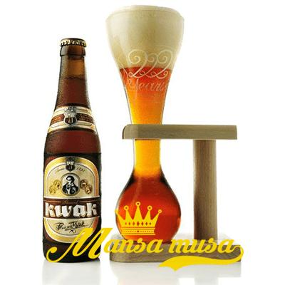 Bia Bỉ Pauwel Kwak 8,4% chai 330ml
