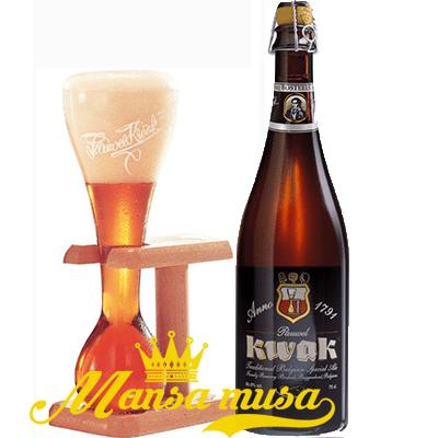 Bia Bỉ Pauwel Kwak 8,4% (chai 750ml)