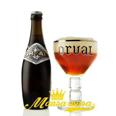 Bia Bỉ Orval 6,2% (chai 330ml)