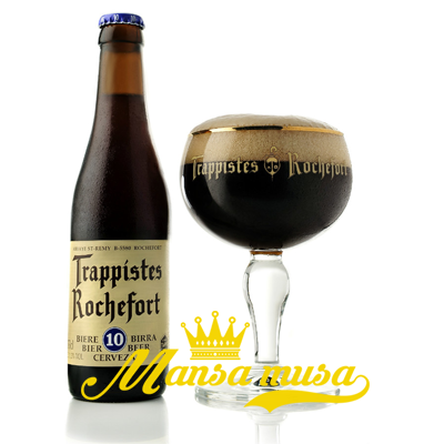 Bia Bỉ Rochefort 10 (11,3% chai 330ml)